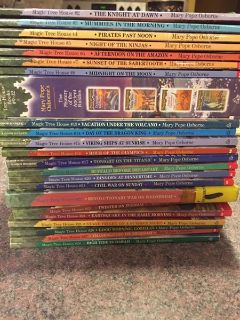 Magic Tree House collection books ( almost complete collection )