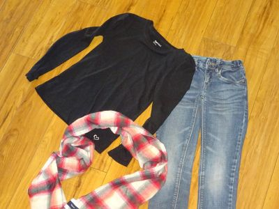 Back to School Outfit winter Gap M 7 8