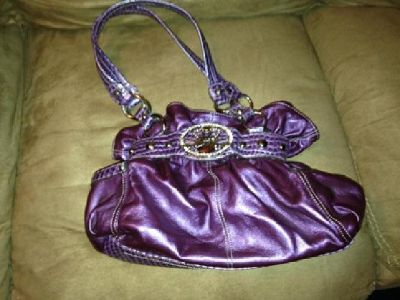 $80 OBO Purple Kathy Van Zeeland Purse