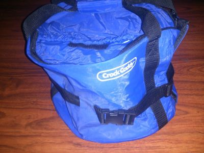 storage bag - crock caddy