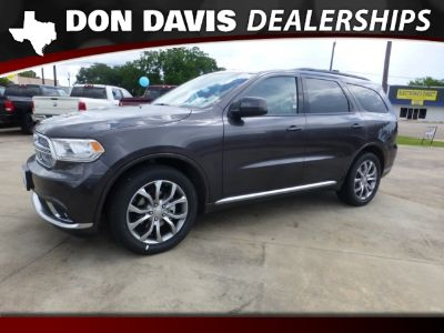 2018 Dodge Durango SXT RWD (Granite Clearcoat)