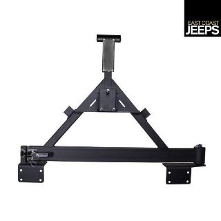Purchase 11546.22 RUGGED RIDGE Tire Carrier For XHD Rear Bumper, 07-12 Jeep JK Wranglers, motorcycle in Smyrna, Georgia, US, for US $339.73