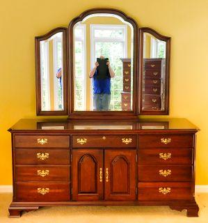 Kincaid Furniture Moonlight Bay Caneel Drawer Dresser