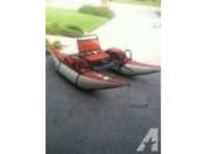 Single Seater Inflatable Pontoon Boat/Float Boat -