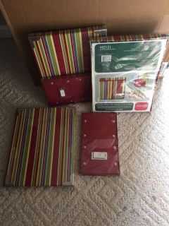 Storage Boxes 3 Lg & 2 CD Boxes. See Add l Pics For Sizes