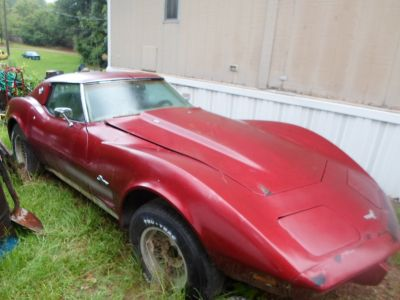 1978 Corvette Stingray 25th anniversary