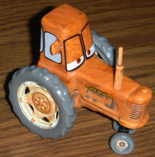 RARE Disney Cars Chewall Tractor Plastic w/ Exhaust Pipe