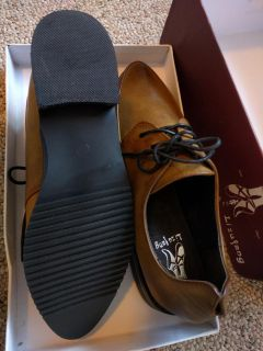 [NEW] Brown soft Oxford shoes (size 37/6.5)