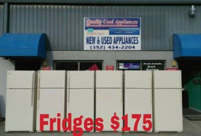 White Standard Fridges Great 4 Rental Properties