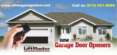 #1 Garage Door Spring Repair | 972-521-8068 | Allen, TX