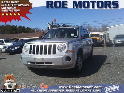 2010 Jeep Patriot Sport (Bright Silver Metallic)