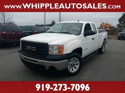 2009 GMC Sierra 1500 Work Truck (White)