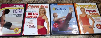 Exercise DVD's