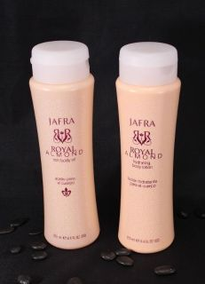 Jafra Royal Almond Lotion and Oil Duo
