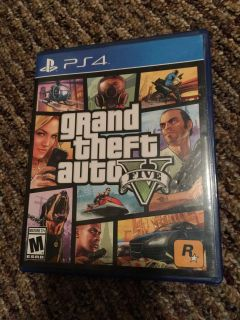 Grand theft auto v 5 ps4 PlayStation game