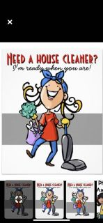 I clean houses and would love to clean yours!