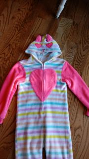 Fleece kitty cat indie. Excellent condition. Size 10/12