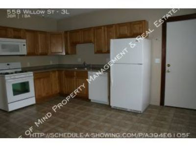3 BR $995 includes Heat & Hot Water