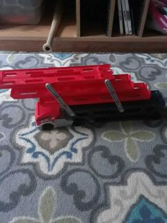 Hot Wheels collapsible tow truck SEE DESCRIPTION