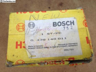 NOS Bosch Warm Up Regulator 0 438 140 011 MIB