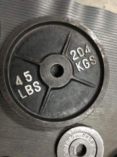 45lb olympic weight sets/pairs