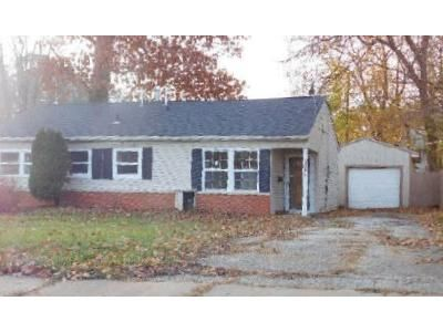 3 Bed 1 Bath Foreclosure Property in Akron, OH 44320 - Seward Ave