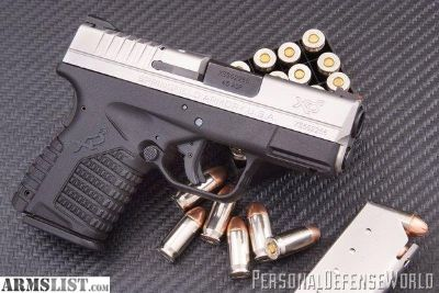For Sale: Springfield XDS 3.3 Subcompact 9mm