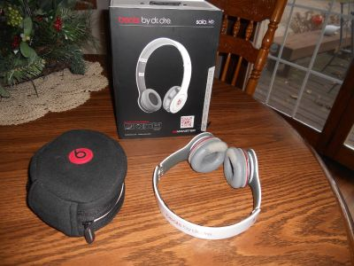 Used pair of Beats by Dr Dre Headphones