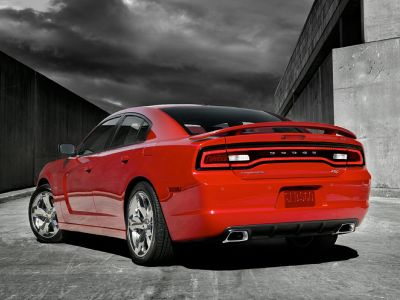 2013 Dodge Charger SXT (Bright White Clearcoat)