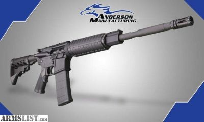 For Sale: Anderson AR-15 NEW