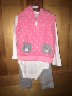 Carters 18 mos 3 pc - Brand New with tags