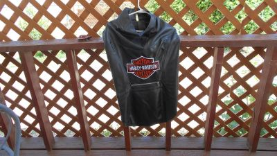 Harley Davidson Coat for large dog.