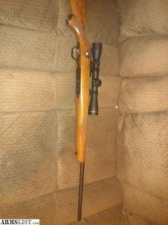 For Sale: Ruger M77 .22LR w/ Leupold 2-7x32 scope