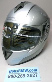 Purchase Shark RSi full face motorcycle helmet size XS extra small Silver motorcycle in Jessup, Maryland, US, for US $230.00