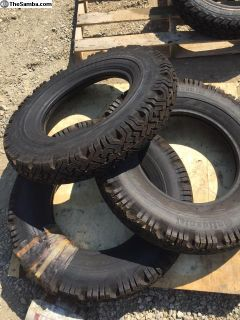 NOS stock set of 3 continental 640-15 tire