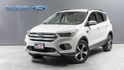 2018 Ford Escape SEL (White Platinum)