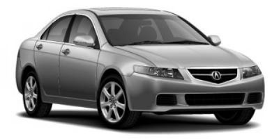 2005 Acura TSX Base (White)