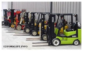 Used Forklift For Sale- Sit Down Rider- Rough Terrain- Telehandler