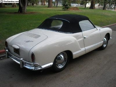 64-69 Karmann Ghia Convertible Top NEW!