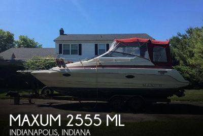 1990 Maxum 2555 ML