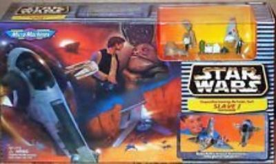 Star Wars Transforming Action Slave I Tatooine Mic