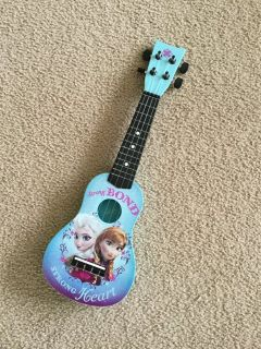 Frozen mini acoustic guitar