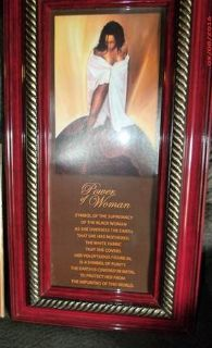 """Picture """"Power of Woman"""", $10 """"The Back Forty"""", Adel"""