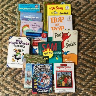 Lot of Early Reader Books