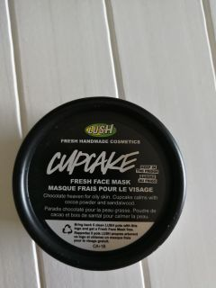 Lush face mask - redeemed with 5 empty containers