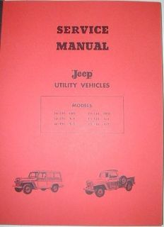 Find 1946 - 1965 Jeep L & F Series Truck Utility Repair Shop Service Manual motorcycle in Holts Summit, Missouri, United States, for US $29.46