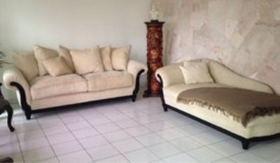 SOFA with Chaise Lounge Set ** price down**