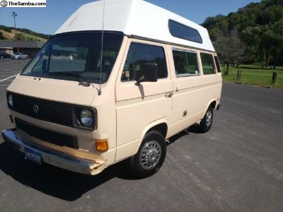 1985 VW Adventure camper vanagon