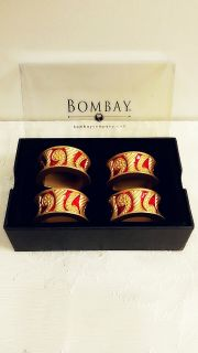 New Bombay Napkin rings or holders.