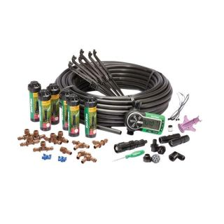 Rain Bird Easy to Install In-Ground Automatic Sprinkler System